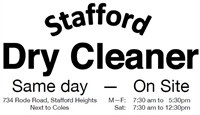 Stafford Dry Cleaner